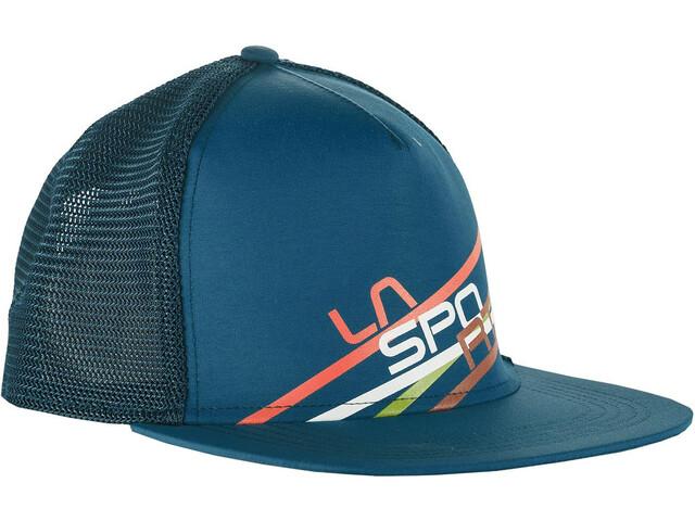 La Sportiva Trucker Stripe 2.0 - Couvre-chef - bleu/Bleu pétrole